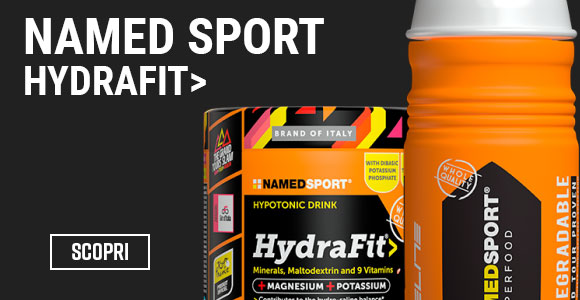 Named Hydrafit 400 + borraccia