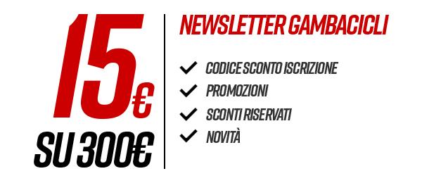 codice sconto newsletter gambacicli