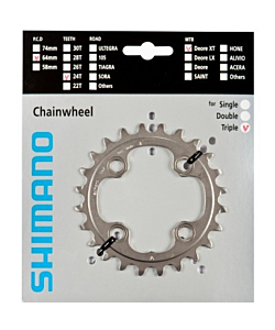 Shimano XT M770/M780 24T 10 speed Chainring