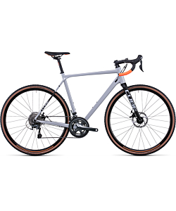Cube Cross Race Grey / Orange 2022