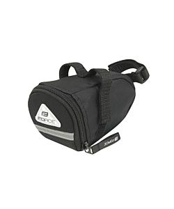 Sacoche de Selle Force Eco Velcro Black M