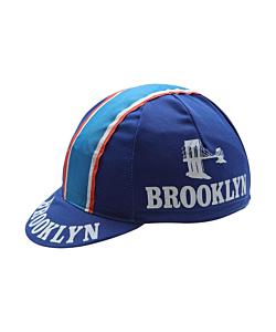 Brooklin Blue Vintage Cycling Cap
