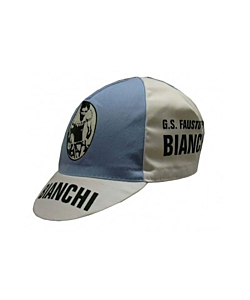 Fausto Coppi Bianchi Vintage Cycling Cap