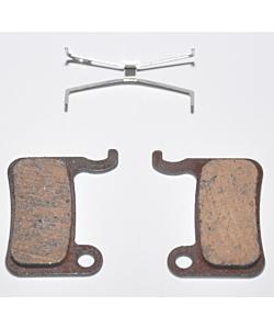 Ashima Shimano XTR/ XT/ SLX/ Saint/ LX/ Hone/ Deore 535 Semi-Metallic Pads