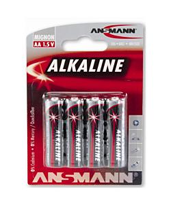 Set Batterie Alcaline AA 1.5v (x4)