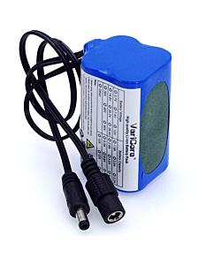 High Capacity Battery for CREE LED Headlight 5200 mAh
