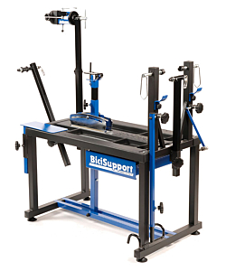 BiciSupport Pro Tour art.101 Professional Workstand with Wheel Truing Stand