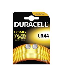 Batterie Duracell LR44 2 Pezzi