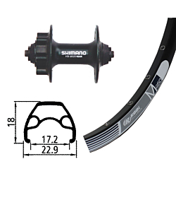 "GMB Alivio / Rodi M 460 Disc 26"" Front Wheel"