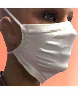 Bacteriostatic and Water Repellent Filter Mask