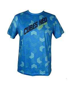 Haven Cubes Neo Short Sleeve MTB Jersey Blue