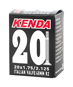 Kenda MTB Junior Inner Tube 20X1.75-2.15 Italian Valve