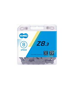 """KMC Z8 1/2"""" x 3/32"""" 114 links 7,1mm 6,7,8 speed"""
