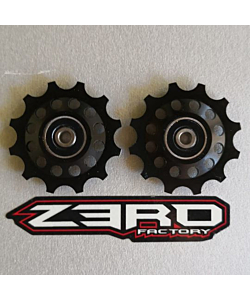 Zerofactory Kuro Plus Pulley Kit for Shimano 12T Dura-Ace 9100