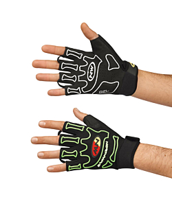 Northwave Skeleton Short Gloves Black / Yellow