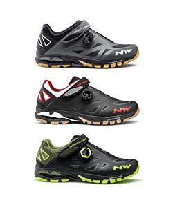 Northwave Spider Plus 2 MTB Shoes Black / Blue