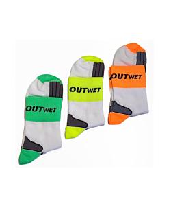Outwet Cotton Fluo Socks Unisize (40-45)