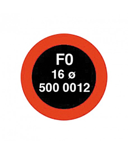 Rema F0 16mm Round Patches 10 Pieces Set