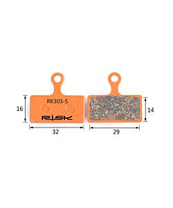 Risk RK303-S Semi-Metallic  Shimano XTR / XT / SLX Pads