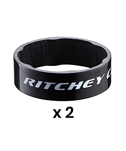 Ritchey WCS Carbon Glossy Black Headset Spacers 10mm (x2)