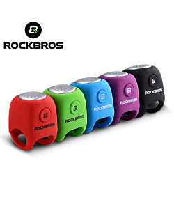 RockBros Cycling Alarm Bell 90 dB Electric Horn Waterproof Silica Gel Bike Bells