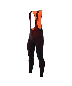 Santini Lava Winter Bib-Tights Black / Orange