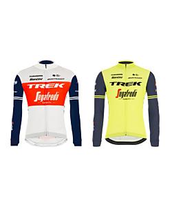 Santini Trek Segafredo Long Sleeve Jersey 2021