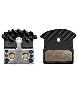 Shimano J04C Metallic Pads with Fin XTR / XT / SLX