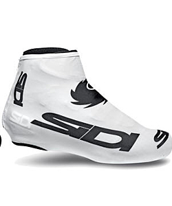 Sidi Chrono Overshoes White Black  Logo (M-L-XL)