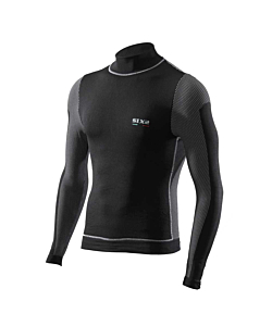SIXS TS4 Long-sleeved turtleneck T-shirt with Wind Protection