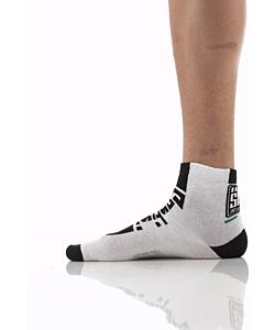 Santini Summer Socks Zest White / Black
