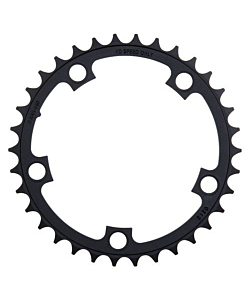 Sram  Red/Force/Rival Chainring 34T/36T/38T Teeth X 110 Black 10 - Speed