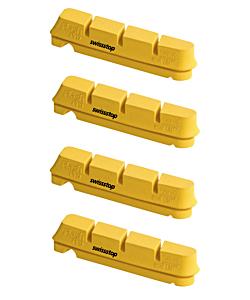 SwissStop FlashPro Yellow King Brake Pads - Set Of 4