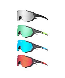 Tiger 3 Photochromic Cycling Glasses (3 Lenses)