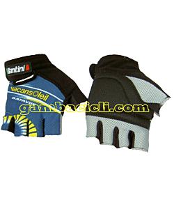 Santini Gloves Vacansoleil 2010