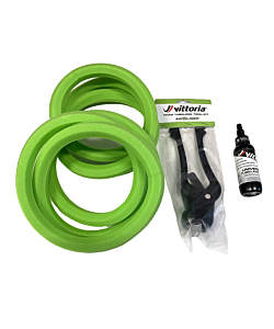 Vittoria Tubeless Road Kit (2x Air-Liner Road + Tools + Sealant)