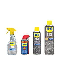 WD-40 Bike Kit (Degreaser + Cleaner + Lubricant + Multifunction)