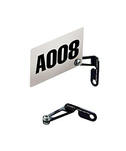 Xon Aluminium Number Plate Holder