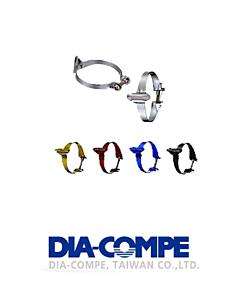 DiaCompe Fascette Fermaguaina 28.6mm (x3)