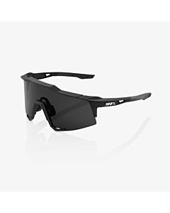 100% Speedcraft Soft Tact Black / Smoke Lens