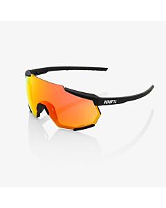 100% Racetrap Soft Tact Black / HiPER Red Multilayer Mirror Lens Eyewear