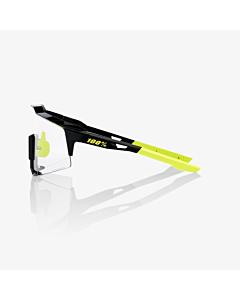 Occhiali 100% Speedcraft Gloss Black / Photochromic