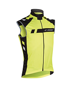 Gist Sky Fit Windtex Vest Yellow Fluo