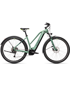 Cube Nature Hybrid ONE 625 allroad green'n'sharpgreen trapeze