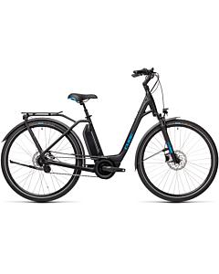 Cube Town Hybrid Pro 500 black'n'blue easy entry 2021