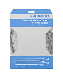 Shimano Kit Brake Cables + Sheaths PTFE Silver (Dura-Ace)
