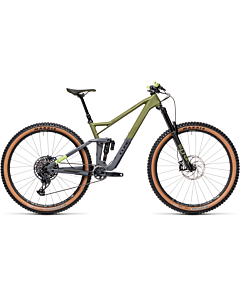 Cube Stereo 150 C:62 Race 29 olive'n'grey