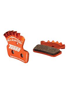 Alligator Turbo Pastiglie con Aletta Sram Guide / Avid Trail