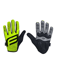 Force Spid 17 Mtb Gloves Yellow Fluo