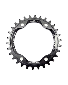 A2Z Narrow Wide MTB Chainring Shimano 96BCD